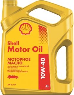Shell Motor oil 10W40 4L
